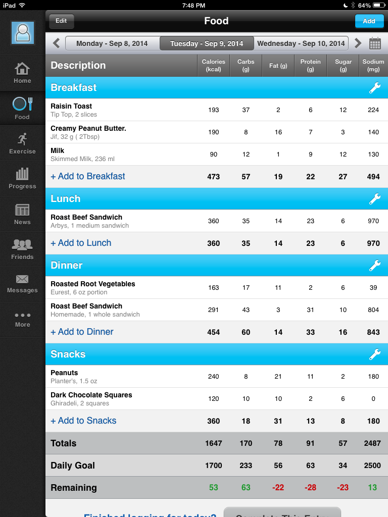 Image of My Fitness Pal