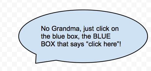 Grandma call-out