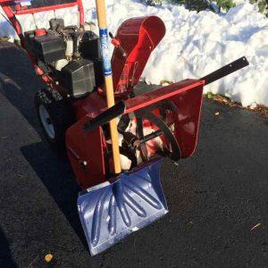 snowblower & snow shovel