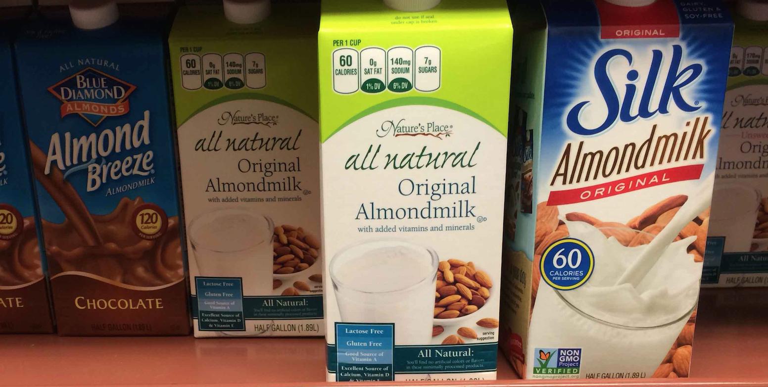 Almond milk 33