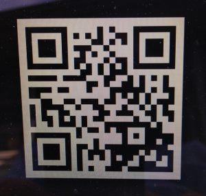 image of a QR code